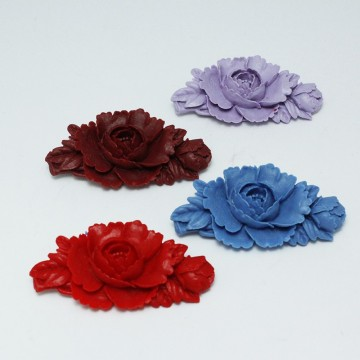 BROCHES DE FLAMENCA CLAVEL